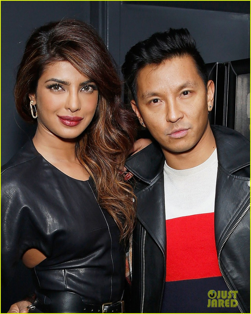 priyanka chopra paper magazine party with prabal gurung 033032428