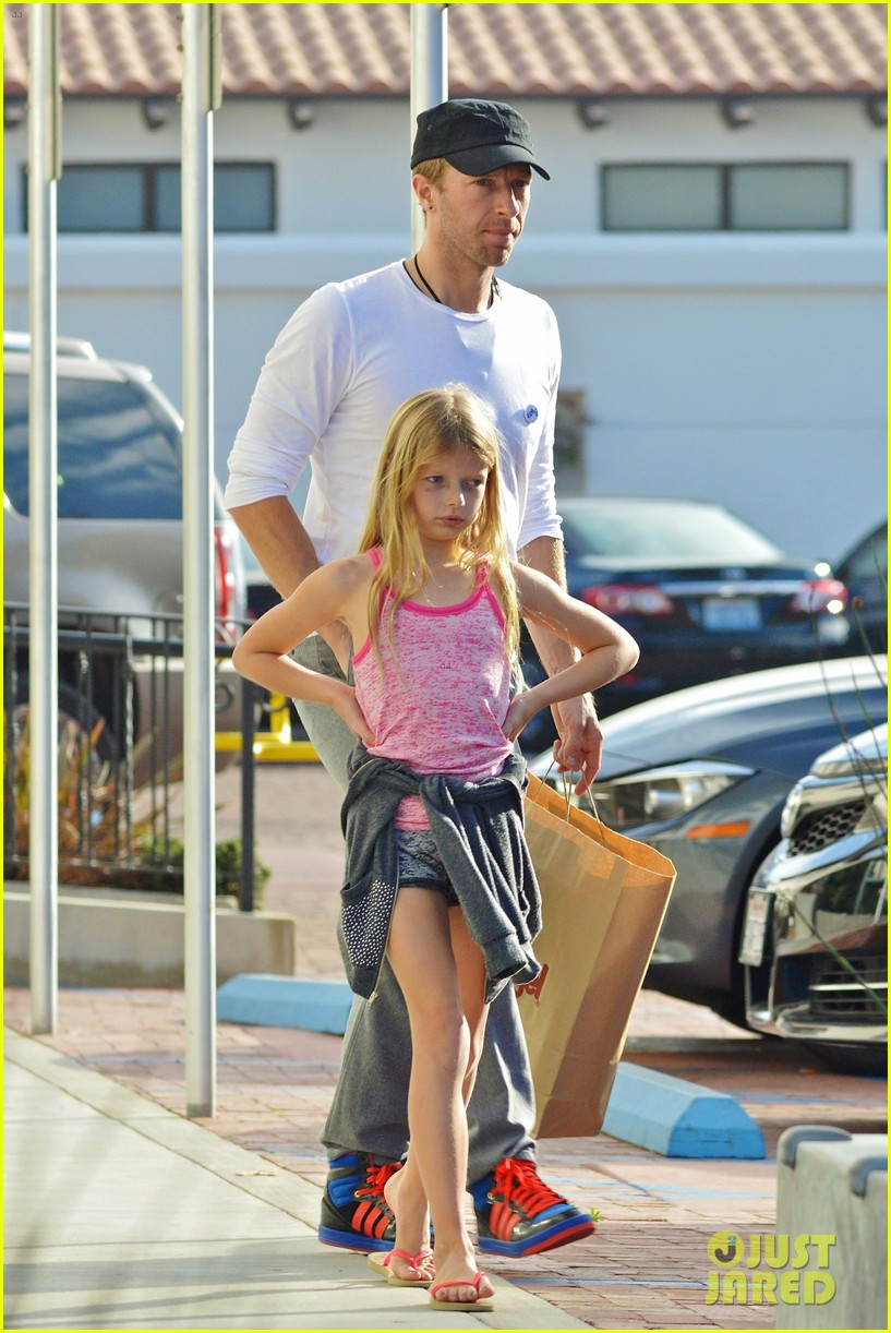 chris martin father daughter day with apple 063040614