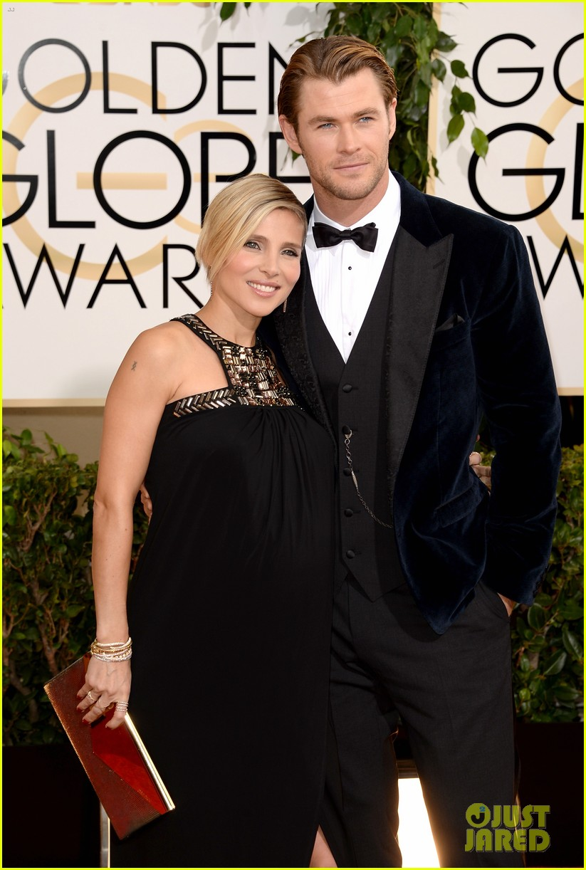 chris hemsworth elsa pataky golden globes 2014 red carpet 02
