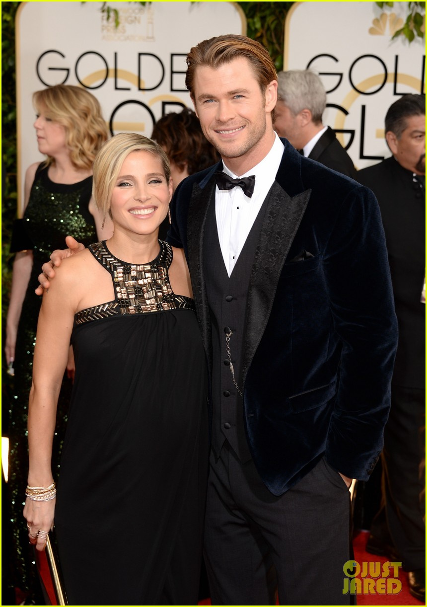 chris hemsworth elsa pataky golden globes 2014 red carpet 04