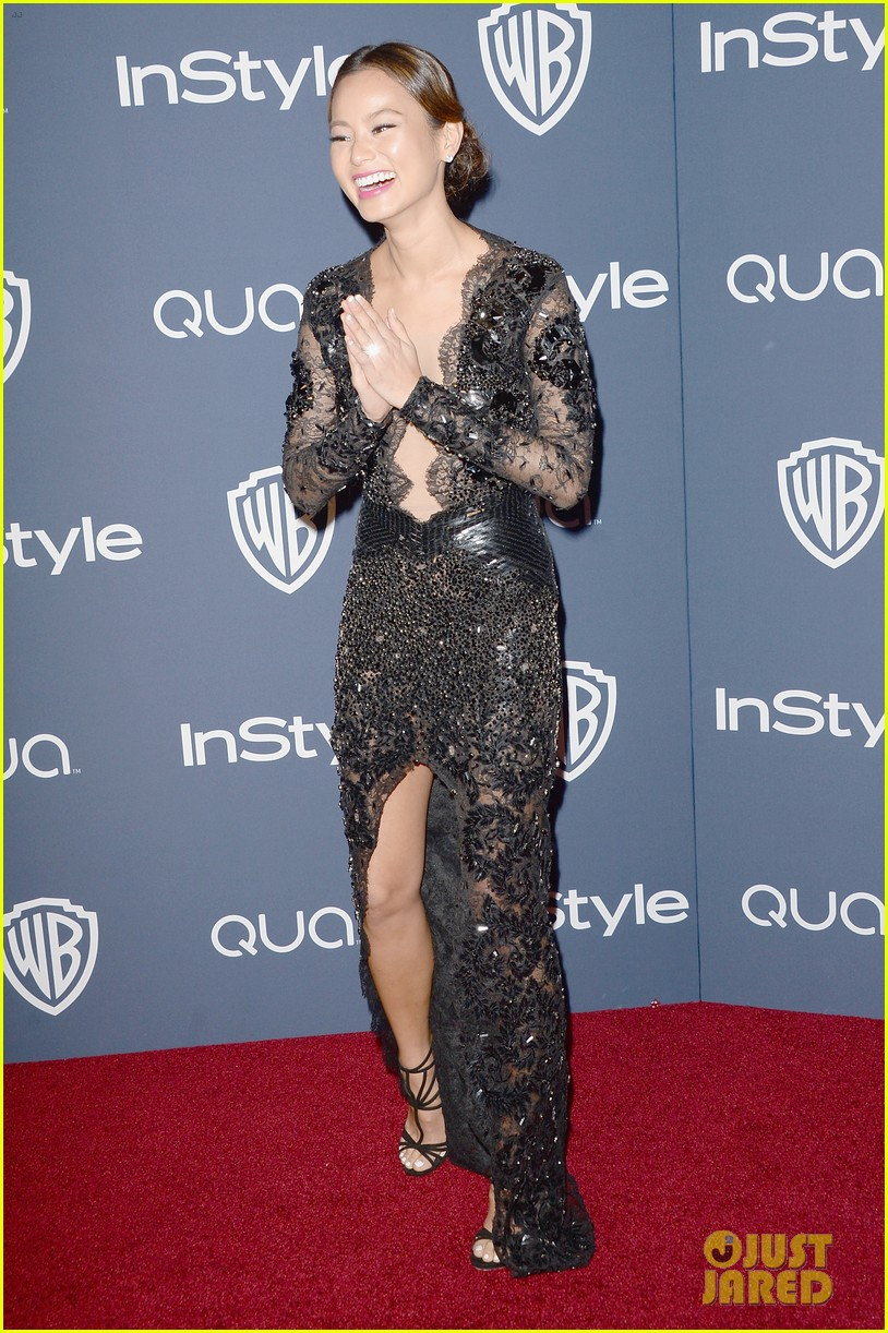 jamie chung bryan greenberg instyle golden globes party 2014 07