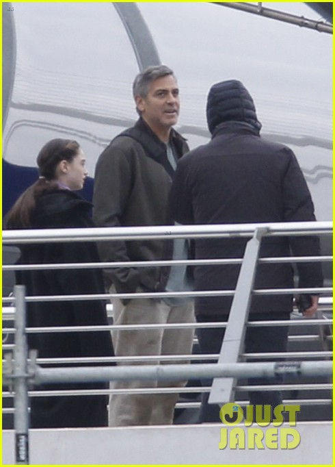 george clooney begins filming tomorrowland in spain 01