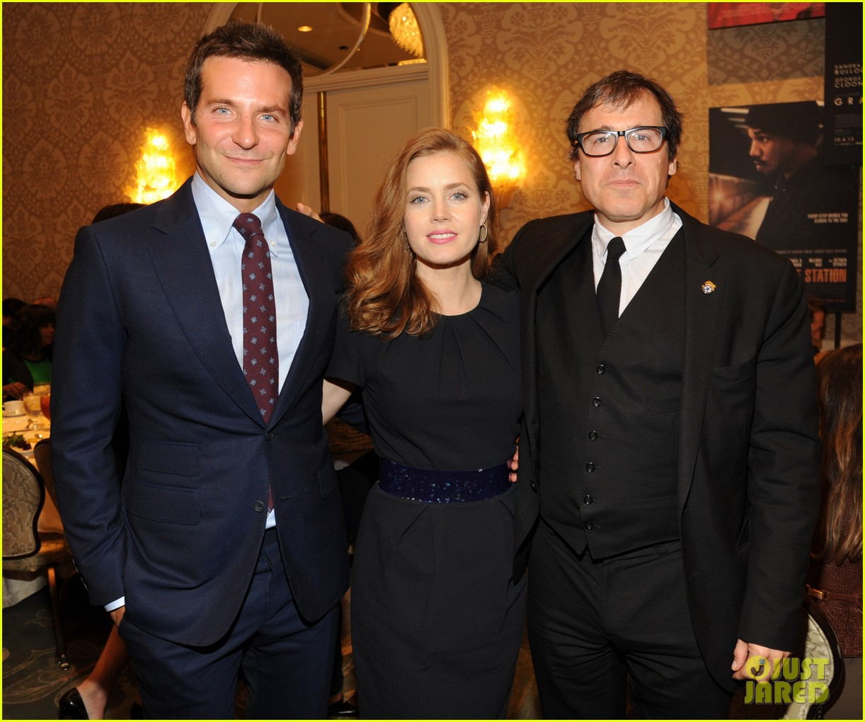 bradley cooper amy adams afi awards luncheon 2014 03