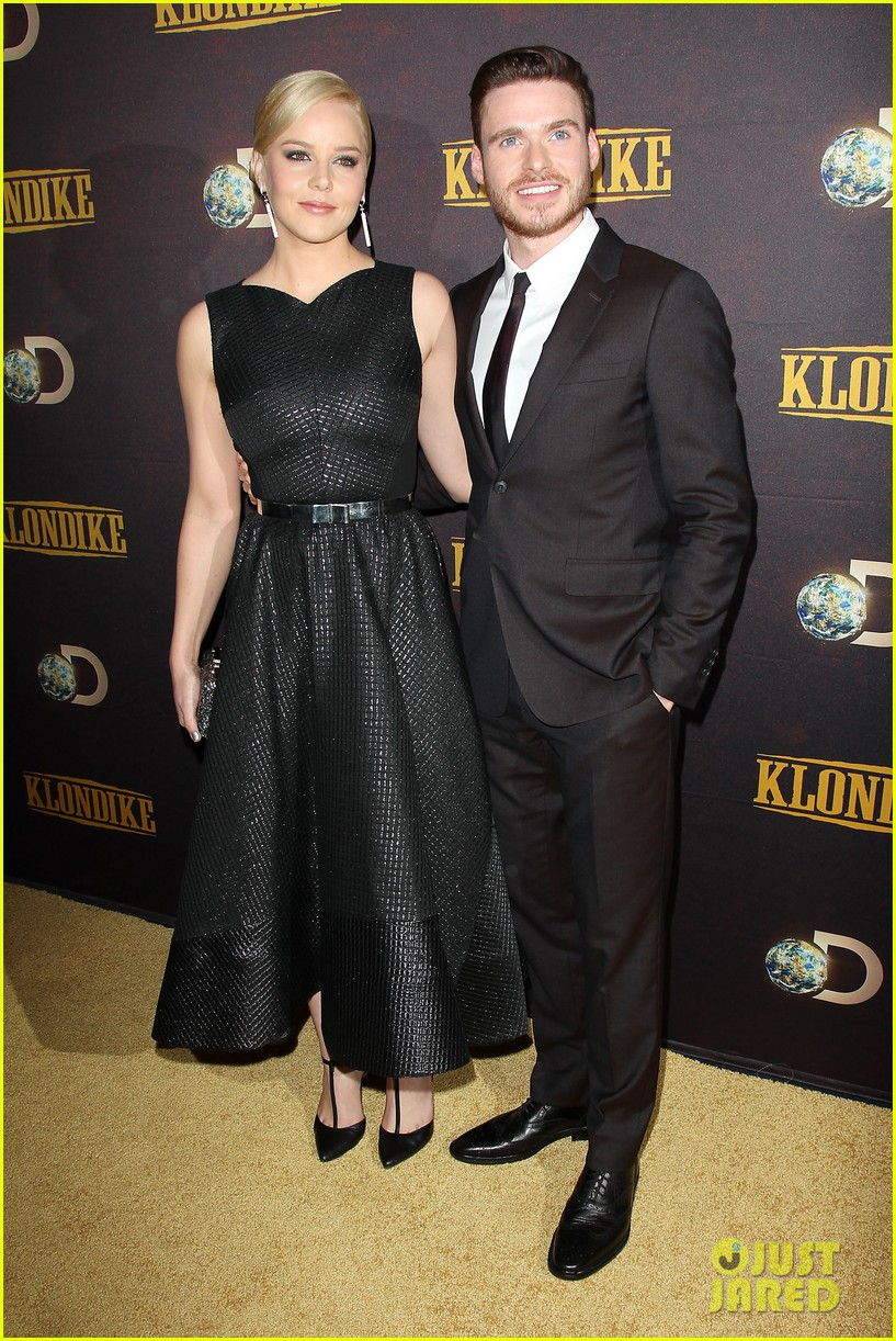 abbie cornish richard madden klondike new york premiere 33