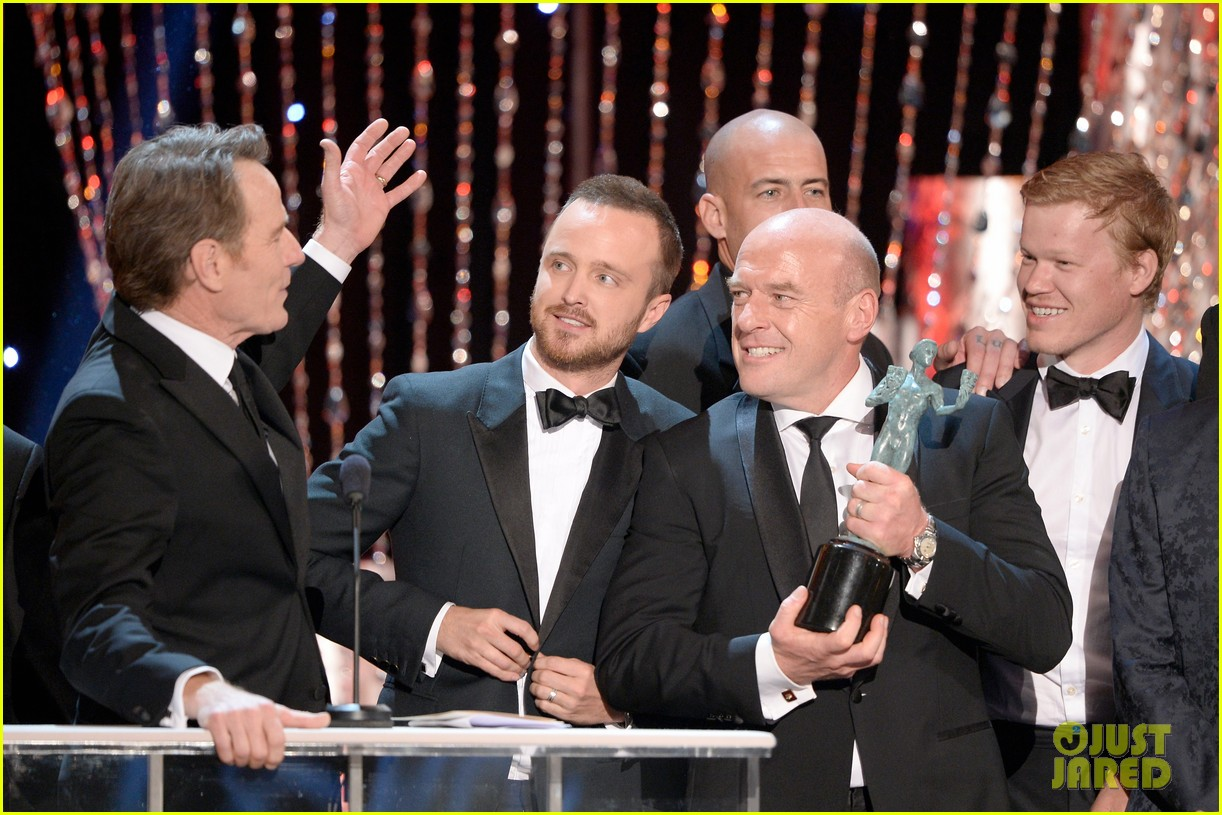 aaron paul bryan cranston sag awards 2014 093034875