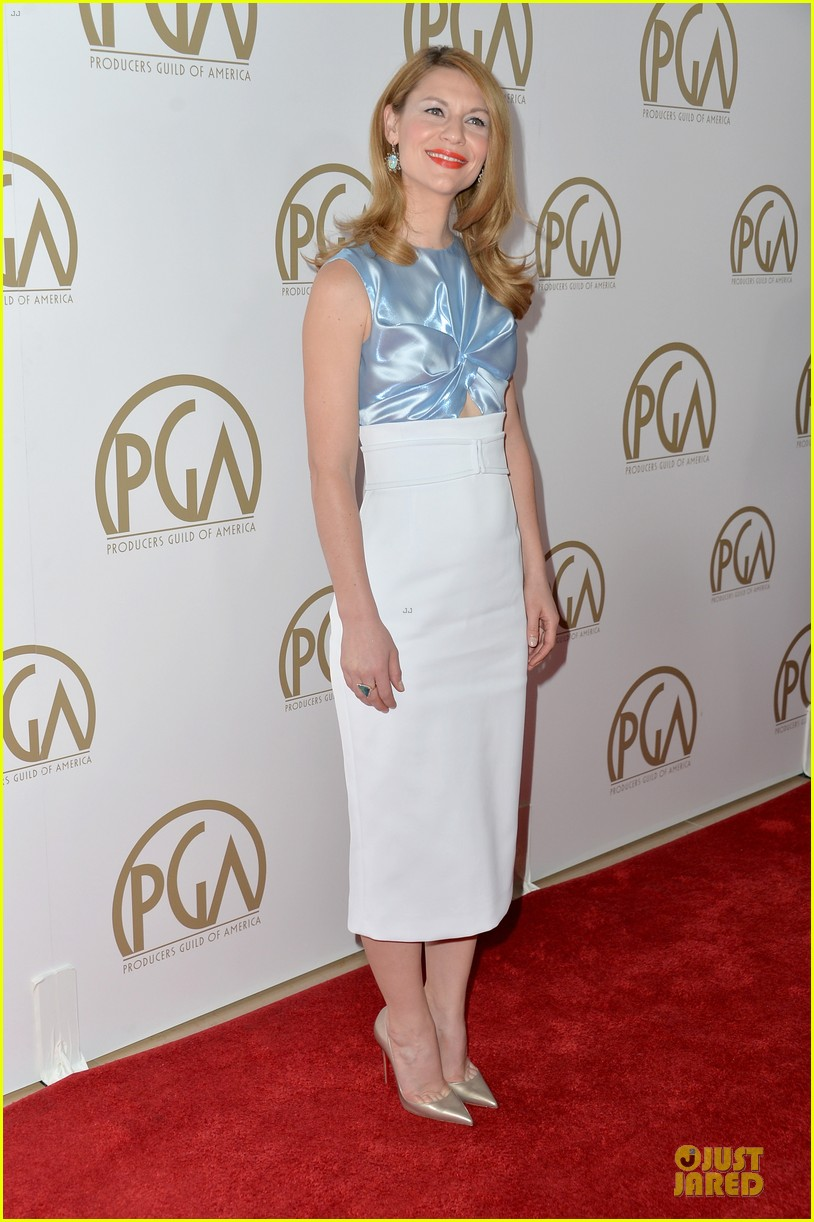 claire danes hugh darcy producers guild awards 2014 053035858