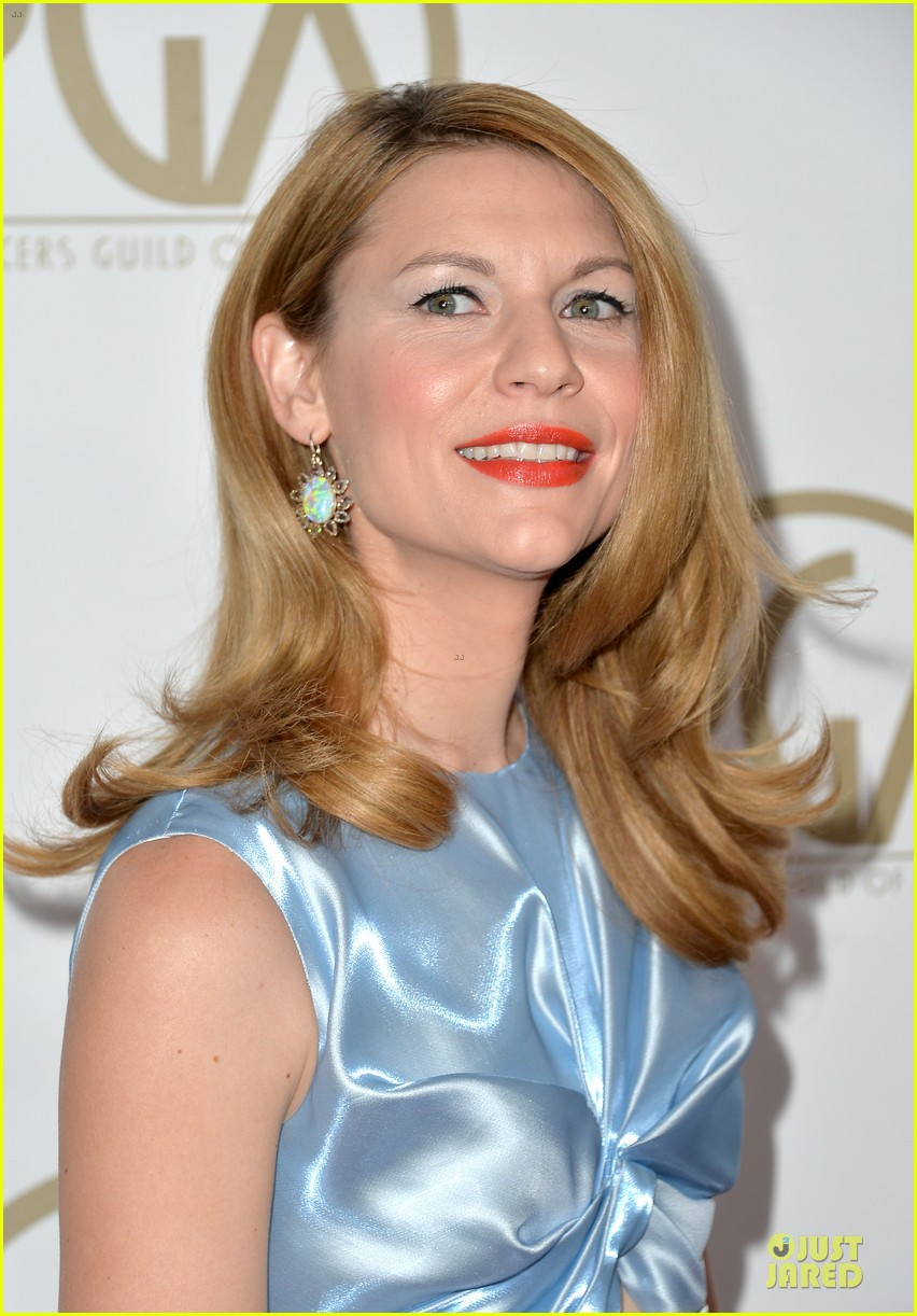 claire danes hugh darcy producers guild awards 2014 093035862