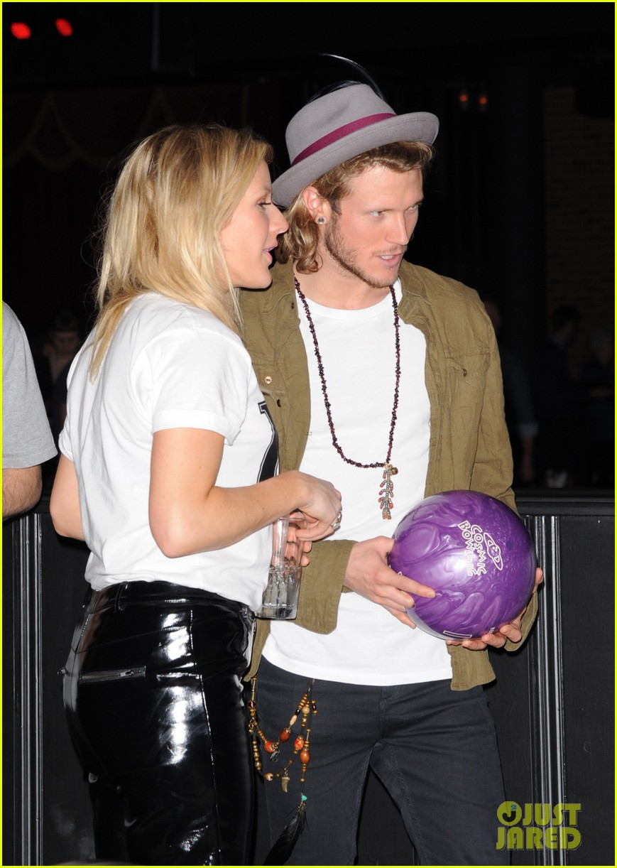 cara delevingne ellie goulding brooklyn bowl launch party 14