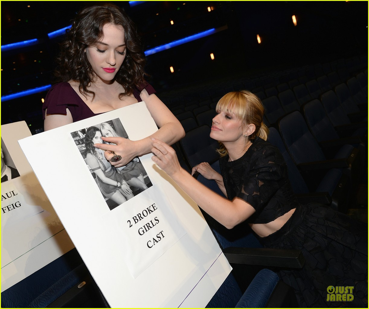 kat dennings beth behrs people choice awards press day 083024141