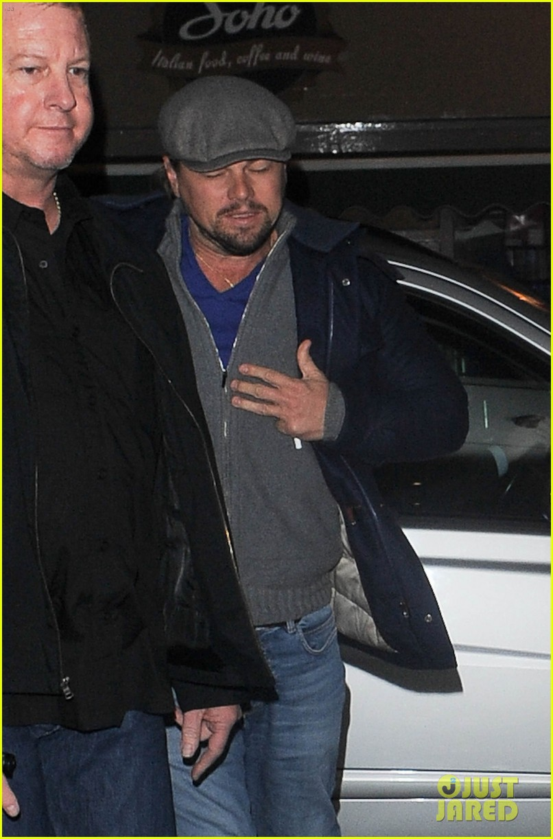 leonardo dicaprio jonah hill grab dinner together in london 09