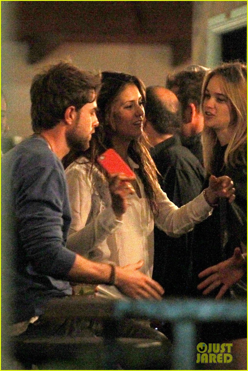 Nina Dobrev Sydney Night Out With Nathaniel Buzolic