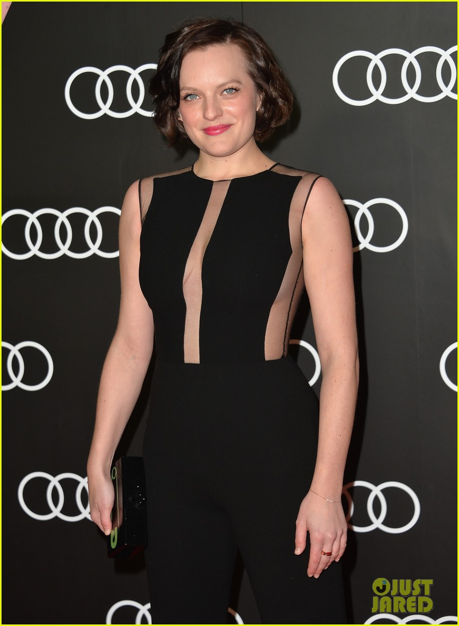 michelle dockery elisabeth moss audis golden globes party 28