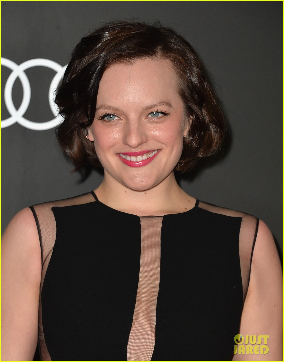michelle dockery elisabeth moss audis golden globes party 30