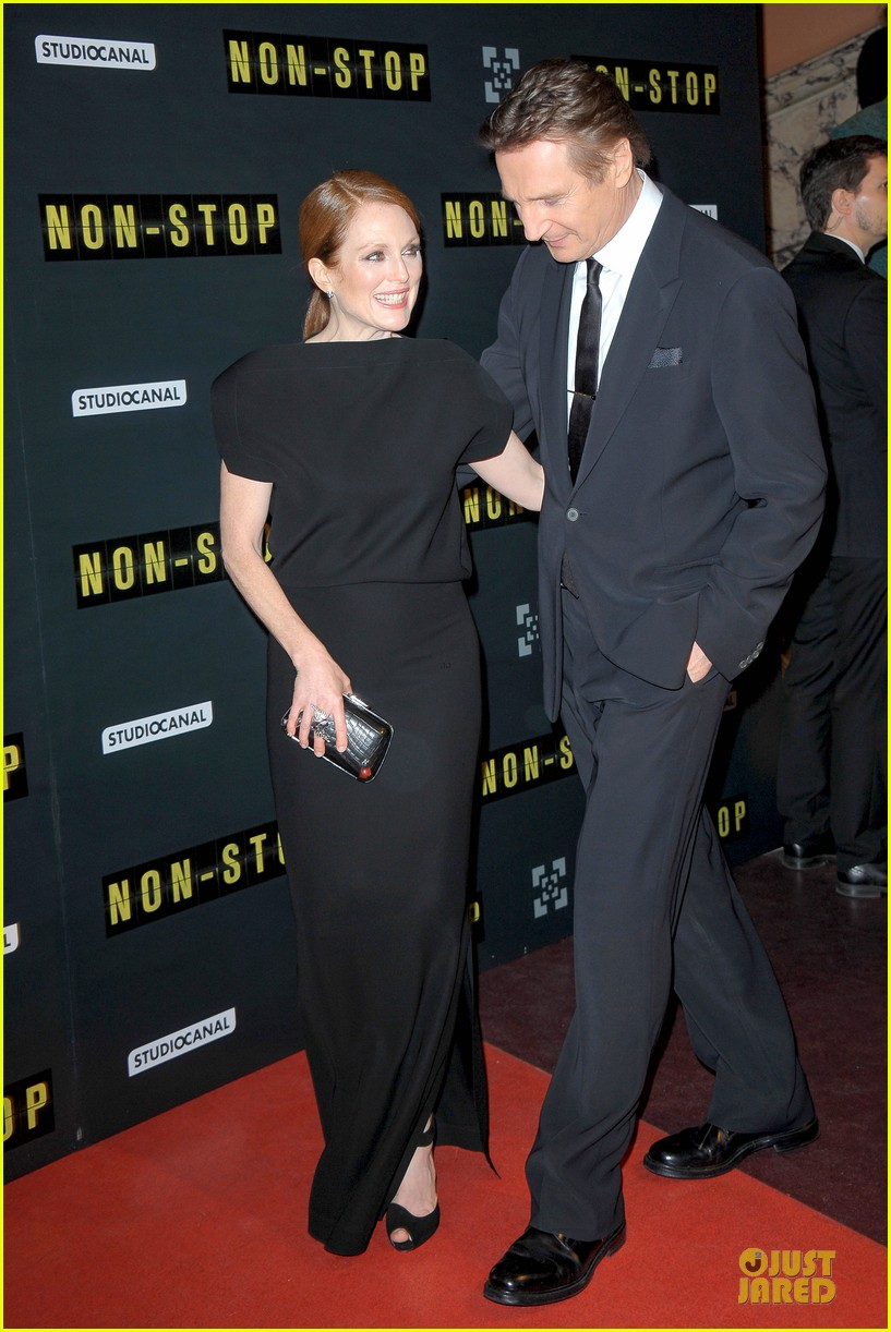 michelle dockery julianne moore non stop paris premiere 103042341