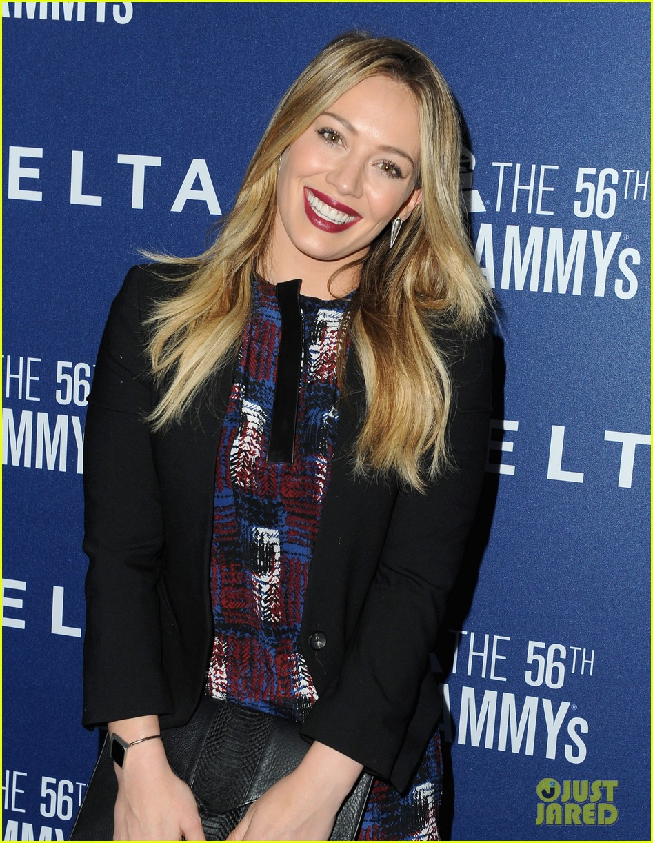 hilary duff julianne hough delta airlines pre grammy party 19