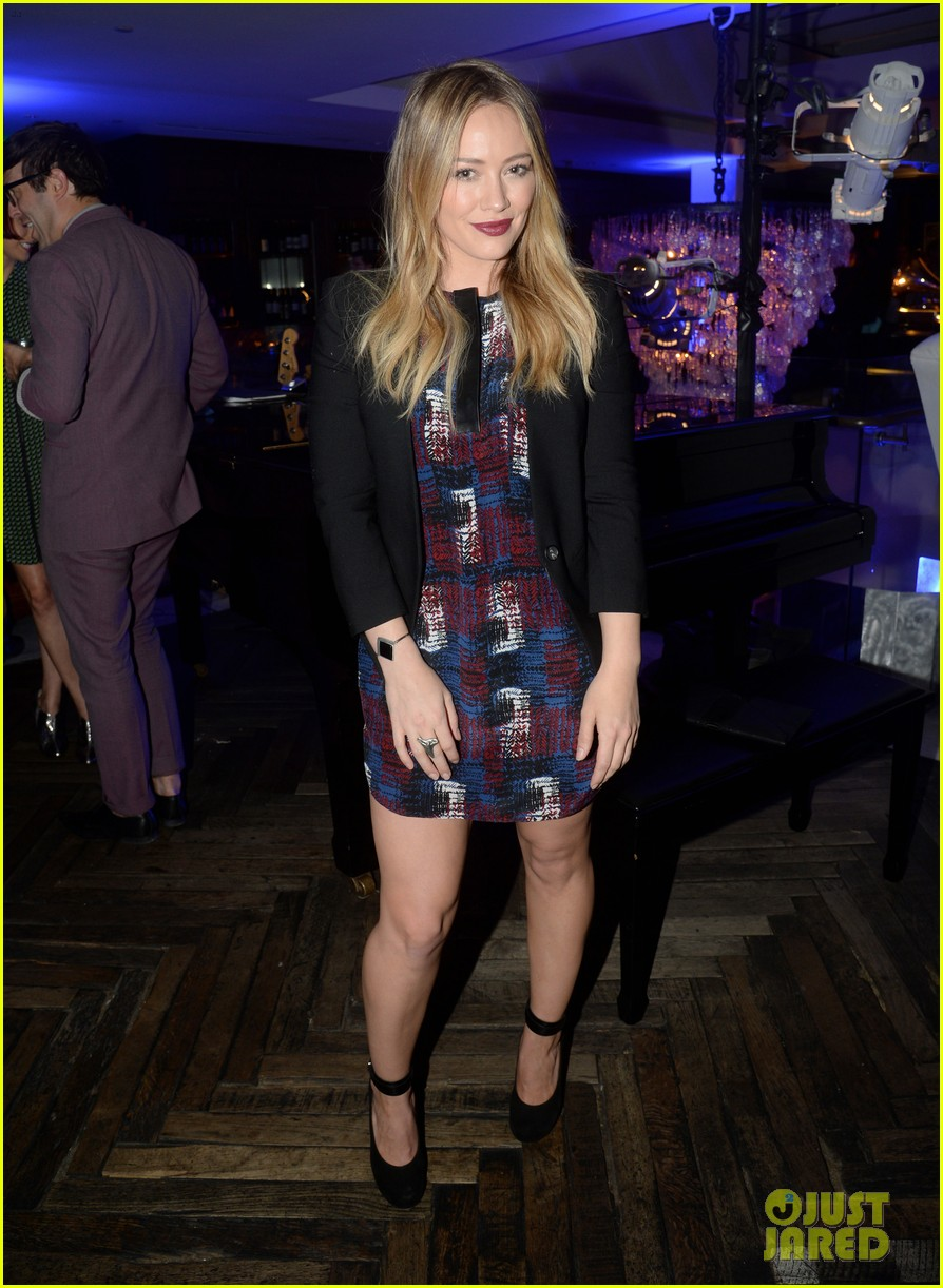 hilary duff julianne hough delta airlines pre grammy party 23