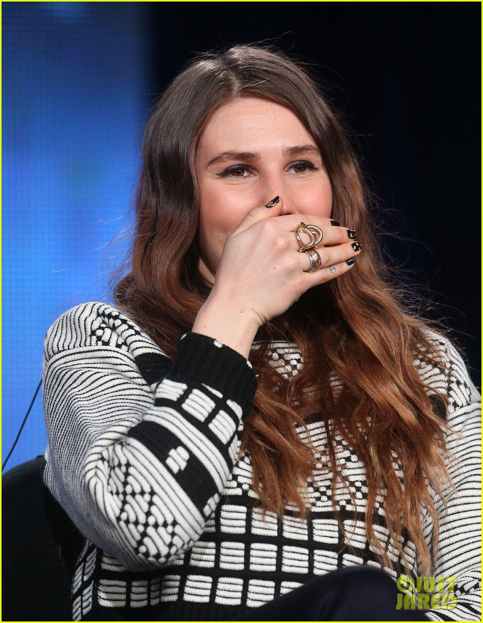 lena dunham allison williams girls tca winter tour panel 13