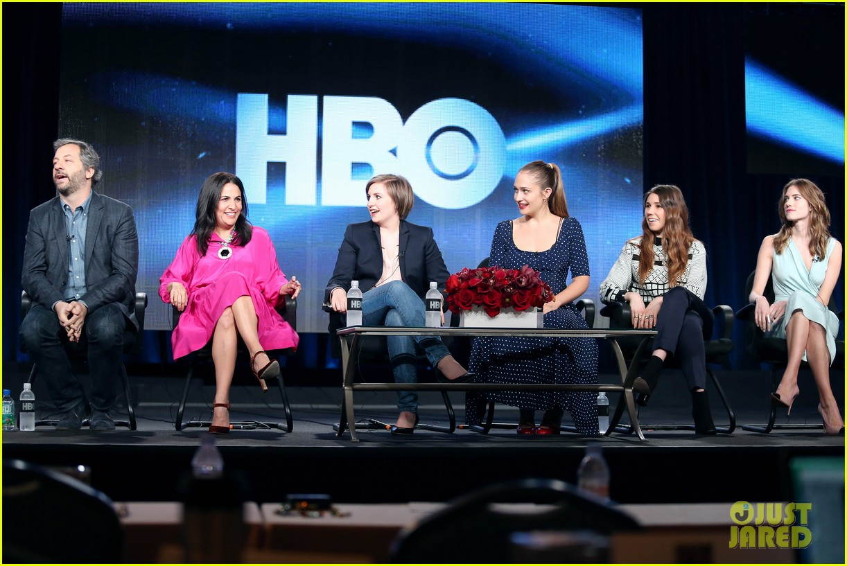 lena dunham allison williams girls tca winter tour panel 15