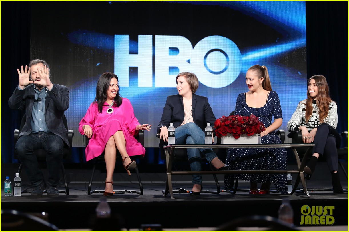 lena dunham allison williams girls tca winter tour panel 163026625