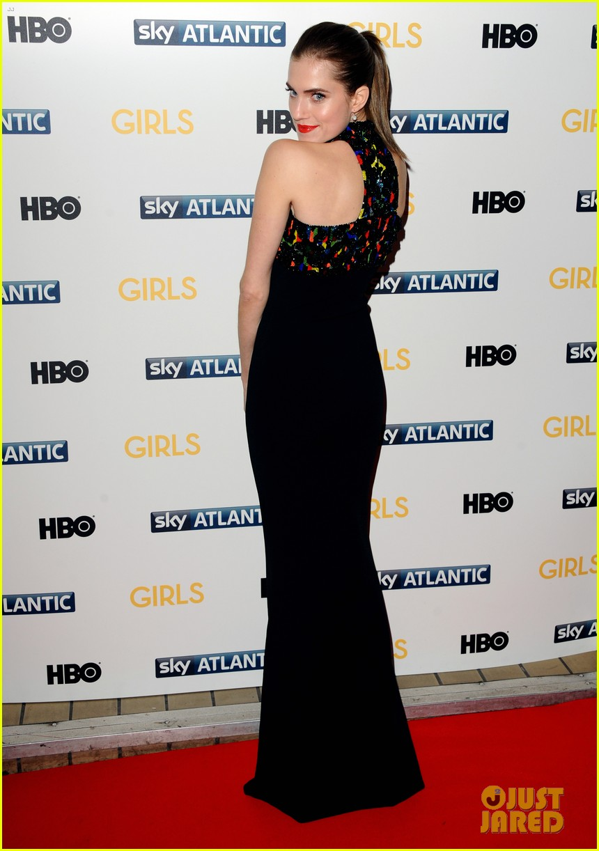 lena dunham allison williams girls season 3 uk premiere 15