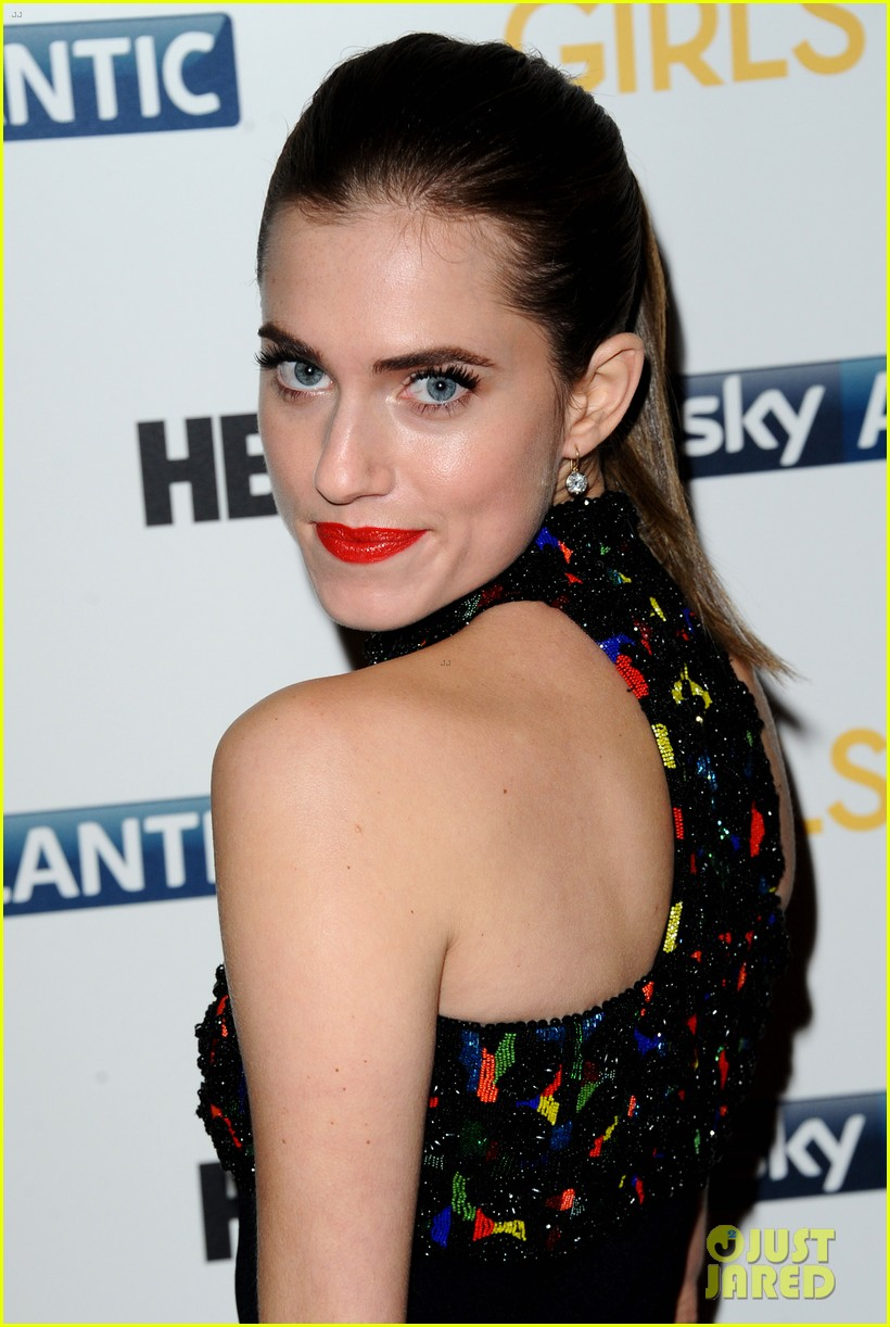 lena dunham allison williams girls season 3 uk premiere 20