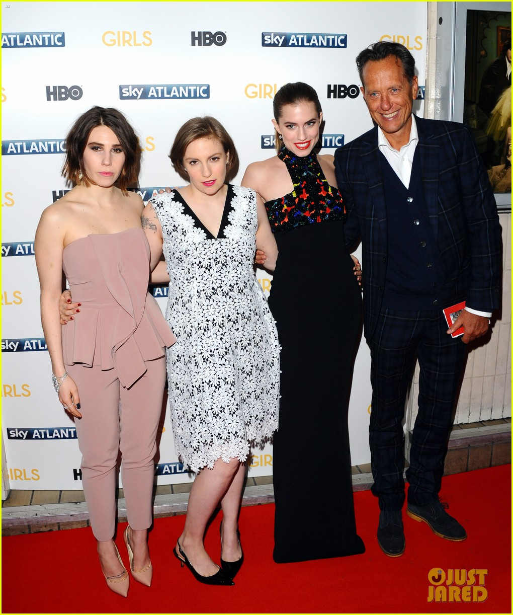 lena dunham allison williams girls season 3 uk premiere 24