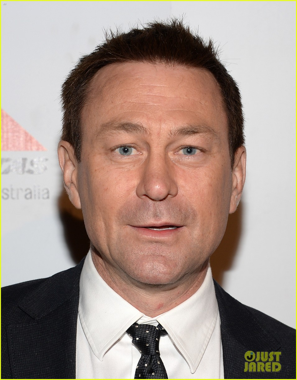 joel edgerton john travolta qantas spirit of australia party 24
