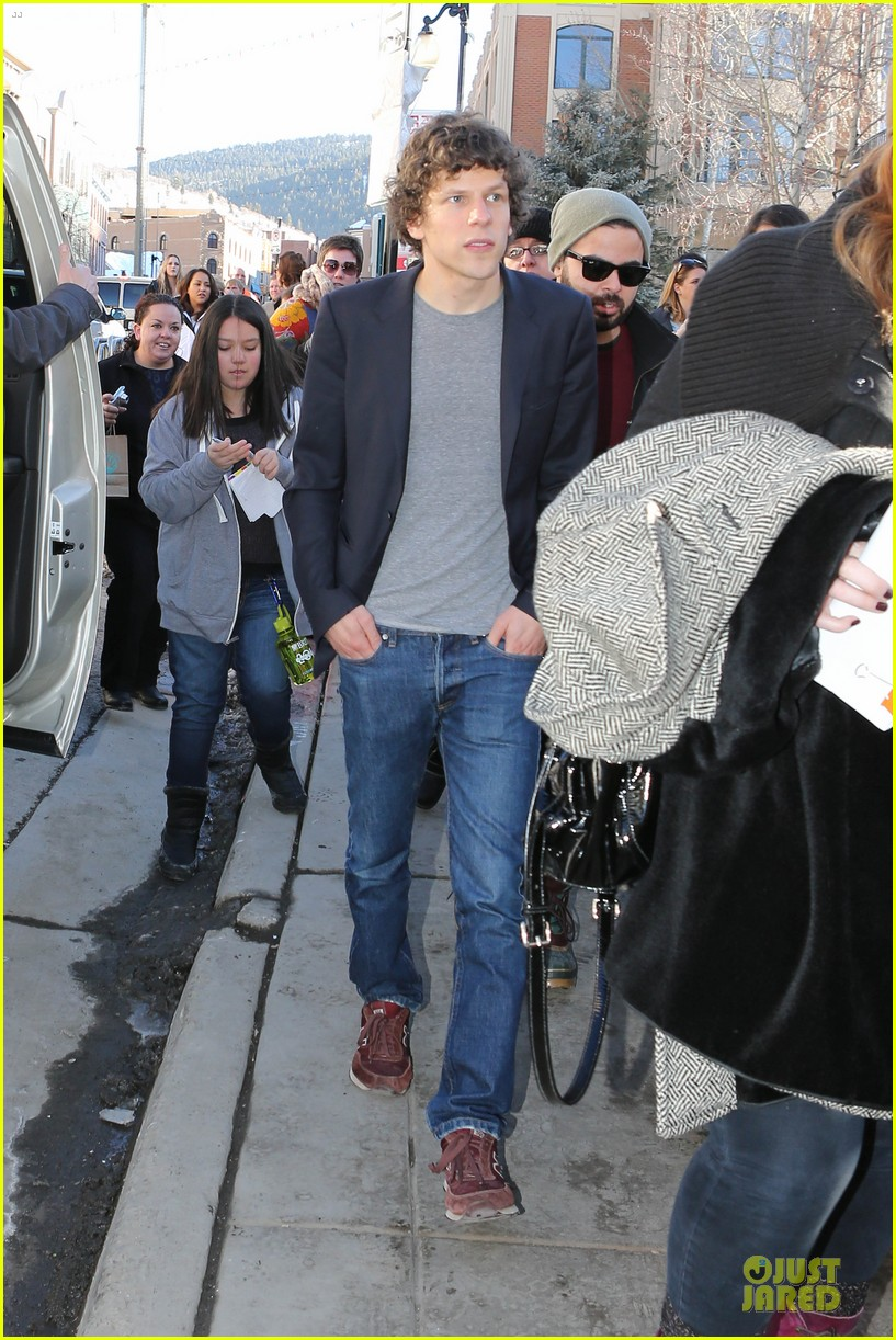 jesse eisenberg the double sundance premiere after party 083034337