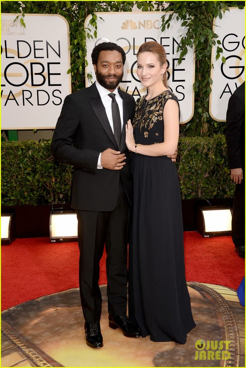 chiwetel ejiofor golden globes 2014 red carpet 043029148