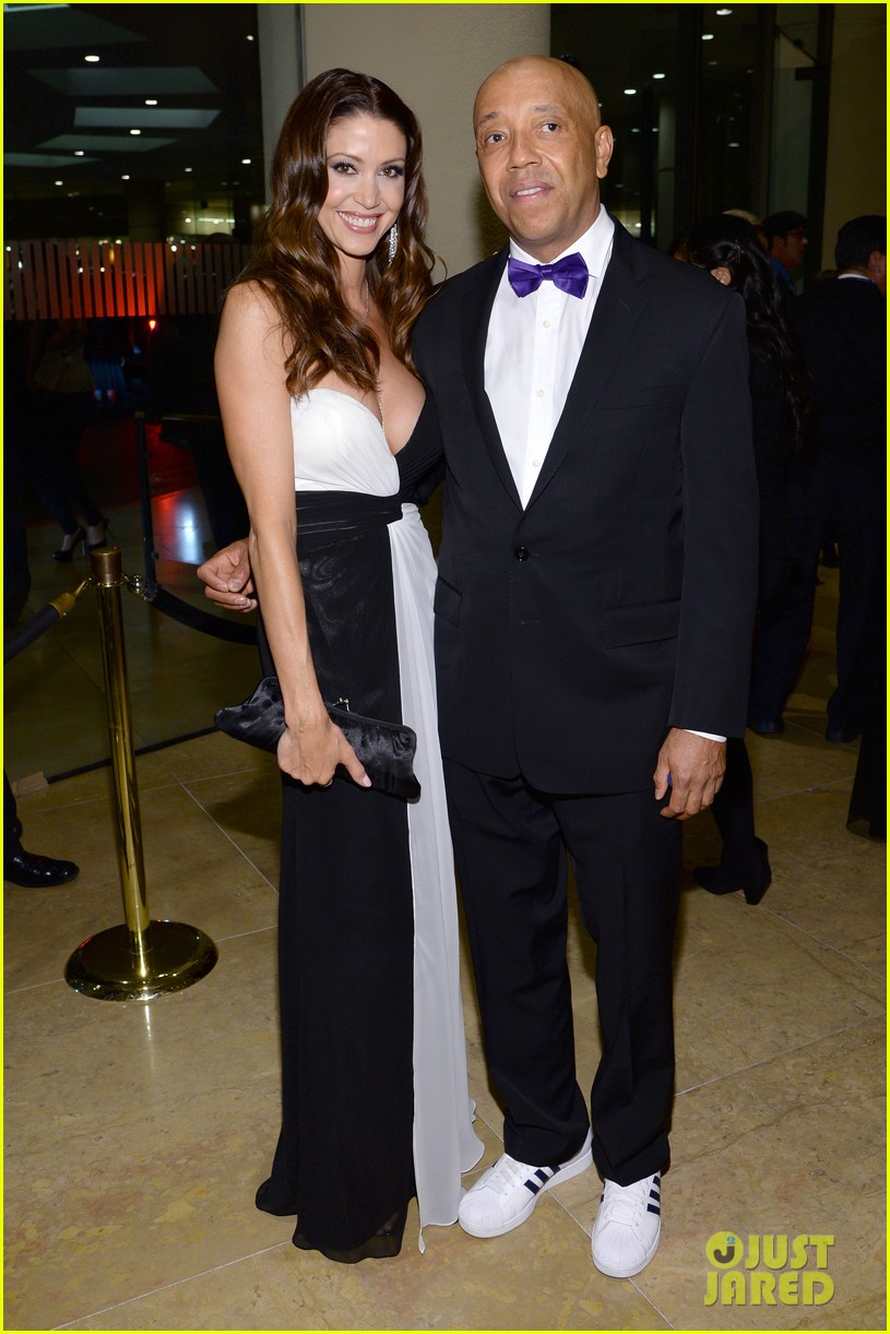 shannon elizabeth russell simmons new couple at grammys party 05