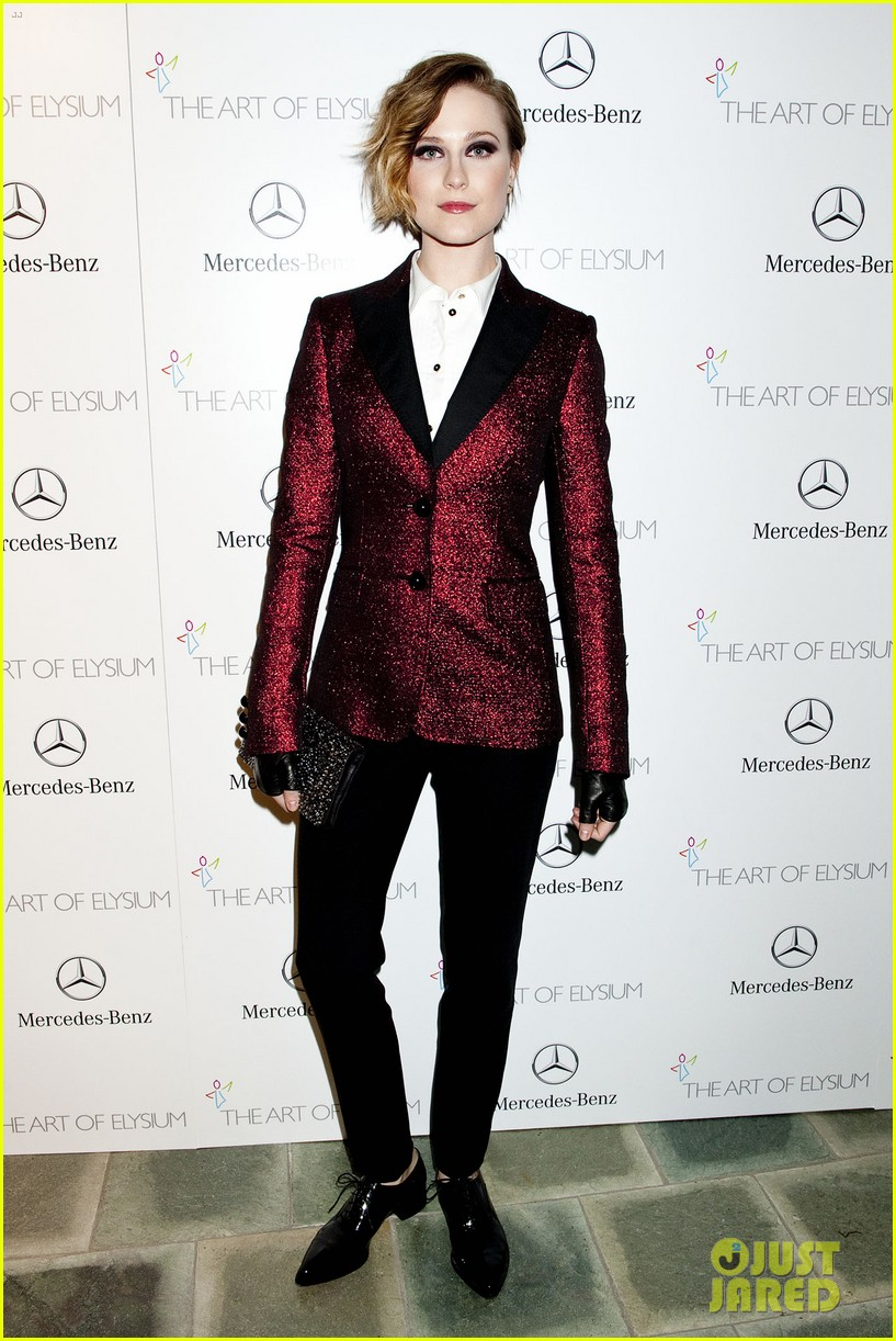 evan rachel wood jamie bell art of elysium heaven gala 19