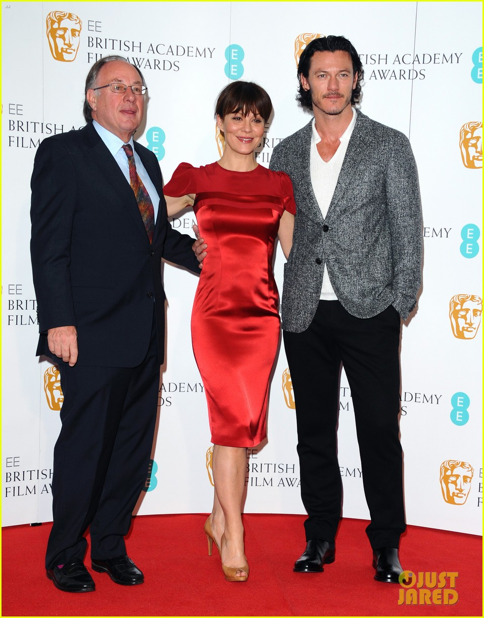luke evans helen mccrory 2014 bafta film awards nominations photo call 02