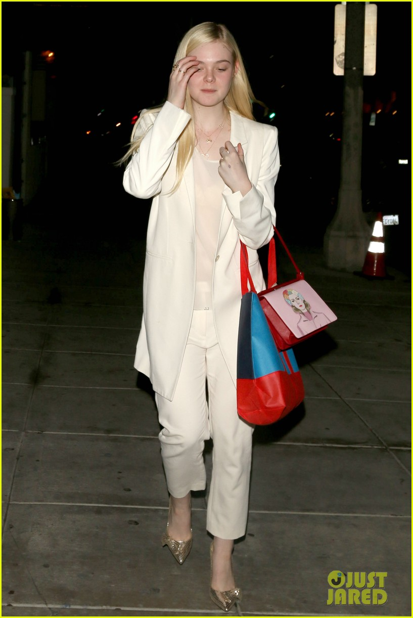 elle fanning matsuhisa dinner date with male friend 16