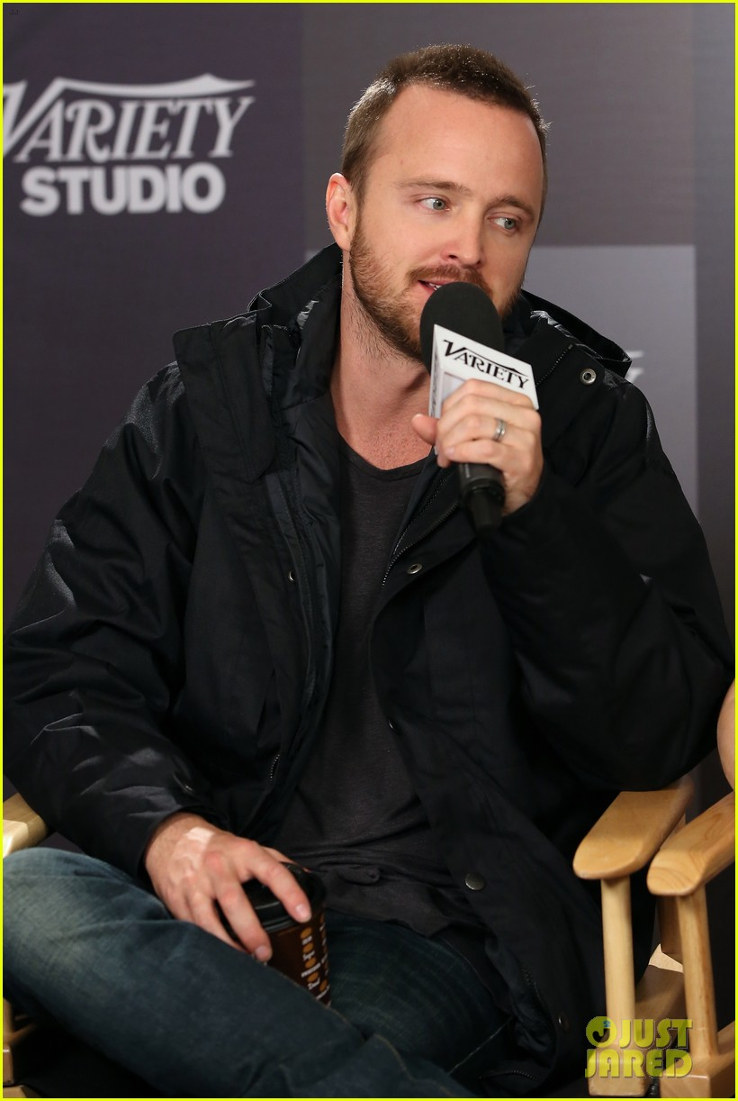 elle fanning aaron paul meet up at varietys sundance studio 023036615