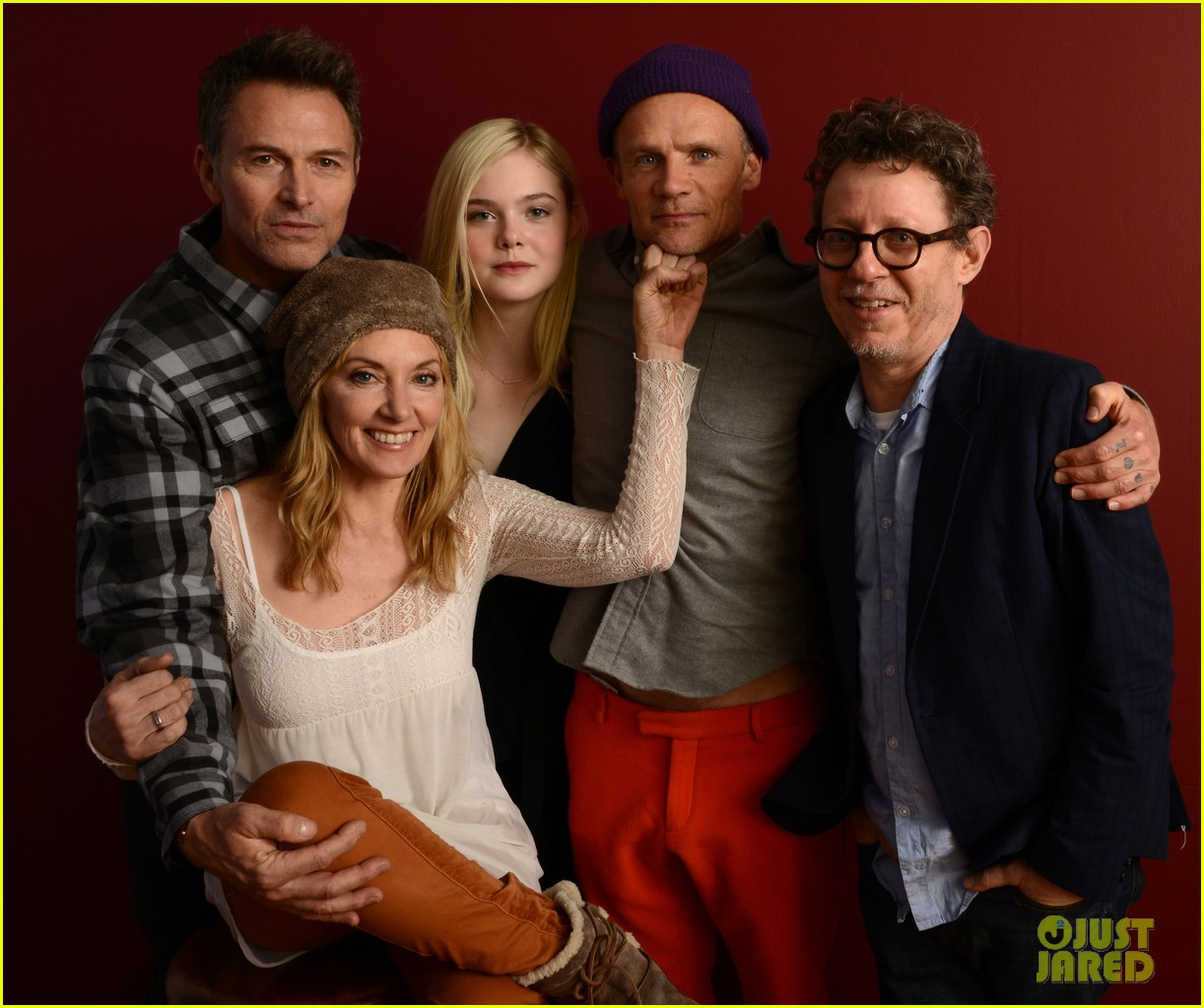 elle fanning aaron paul meet up at varietys sundance studio 103036623