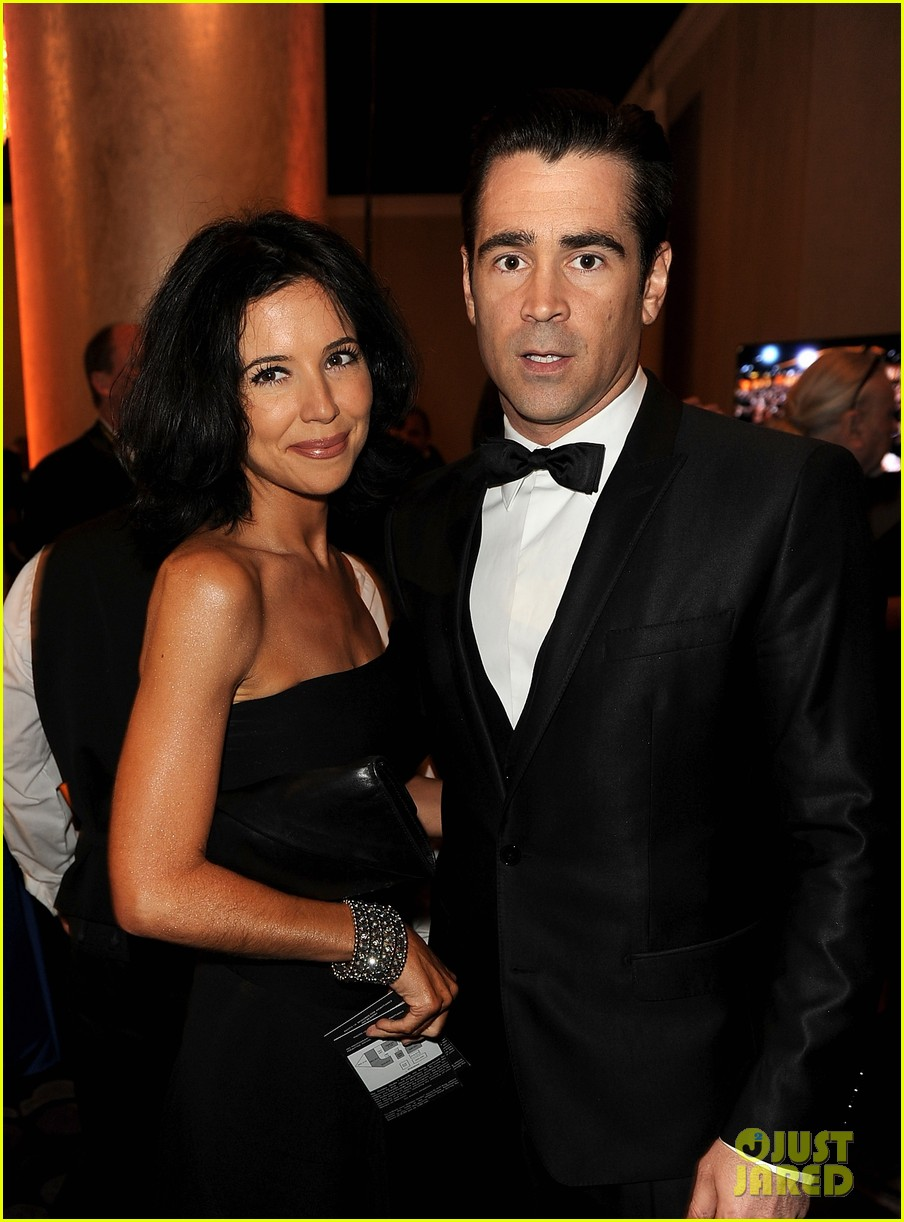 colin farrell golden globes 2014 with sister claudine 043029685