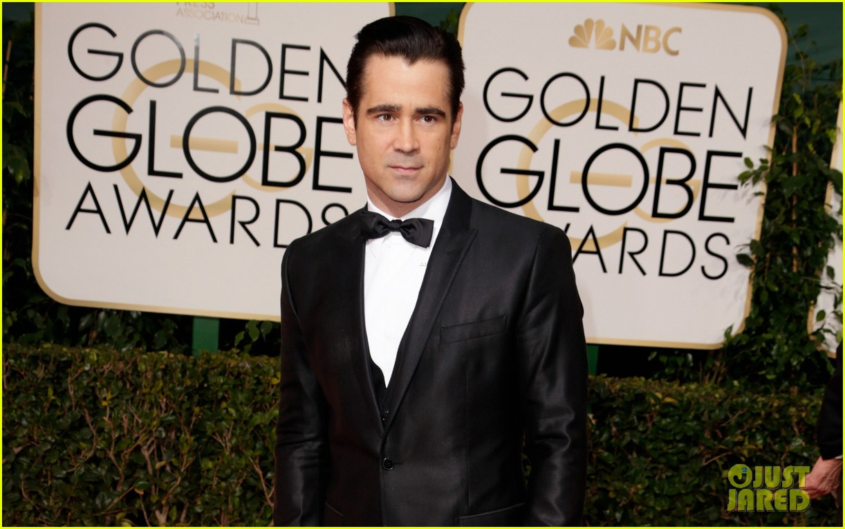 colin farrell golden globes 2014 with sister claudine 053029686