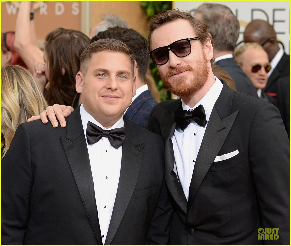 michael fassbender golden globes 2014 red carpet 063029211