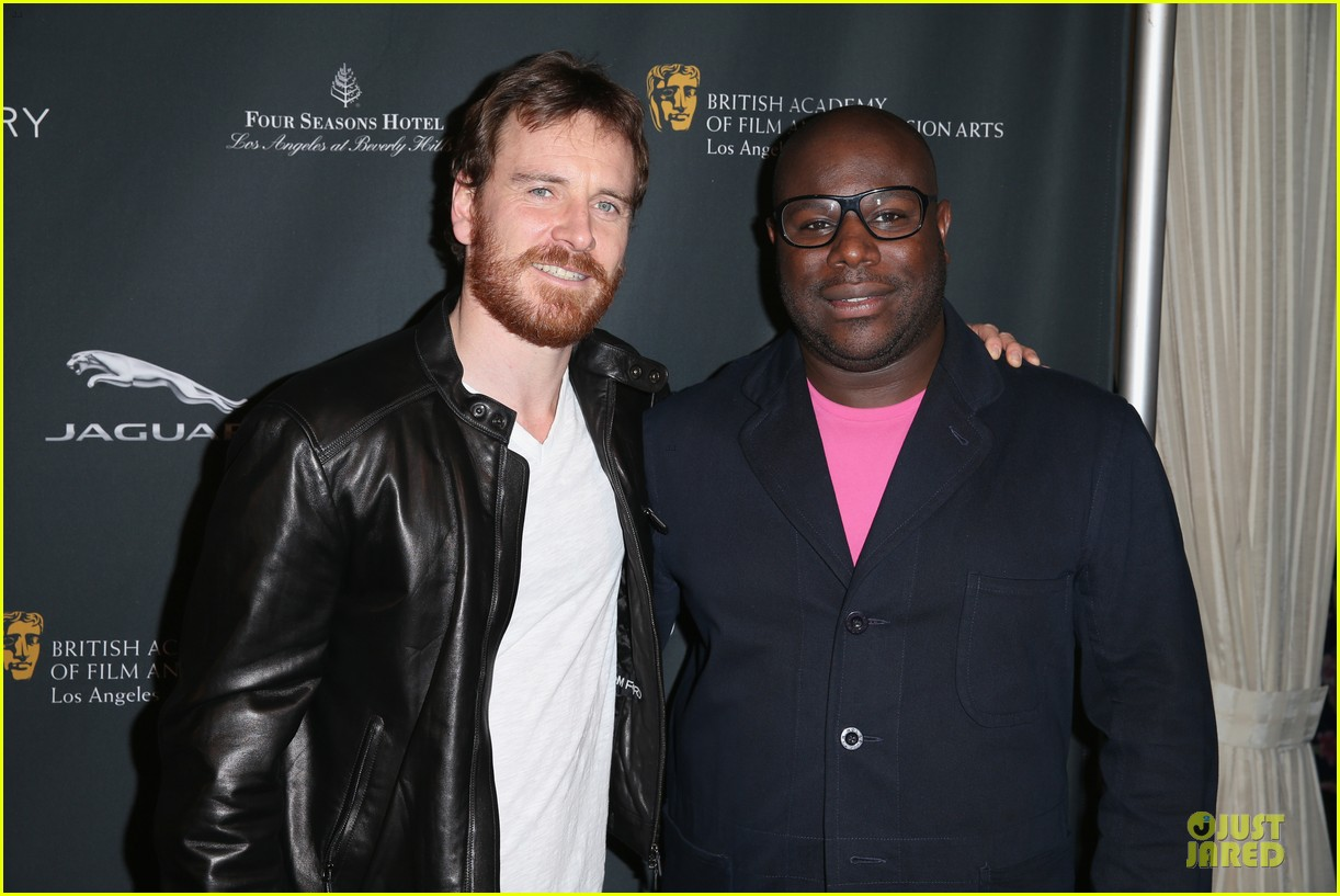 michael fassbender chiwetel ejiofor bafta tea party 2014 063028100