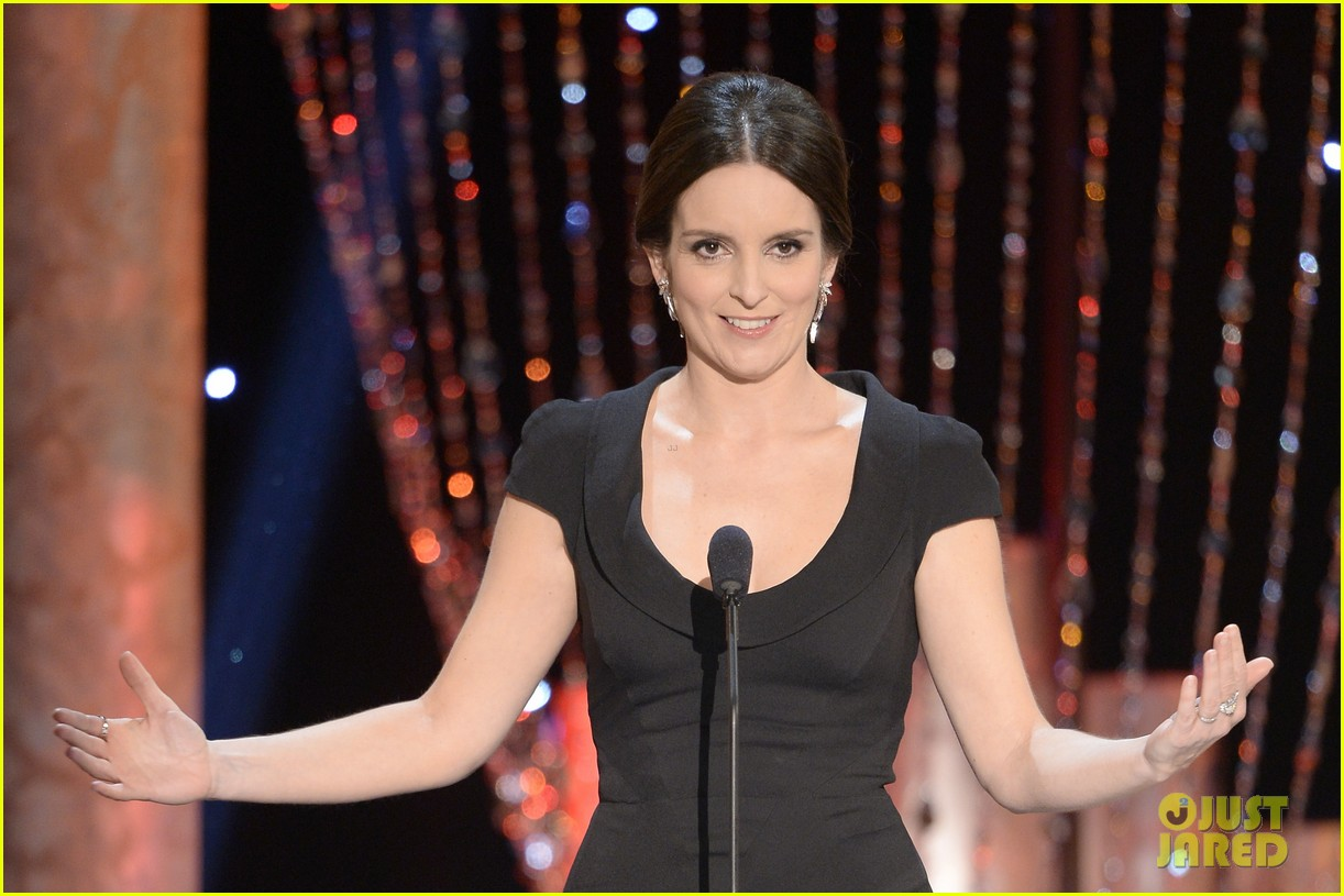 tina fey brings daughter alice to sag awards 2014 033034992