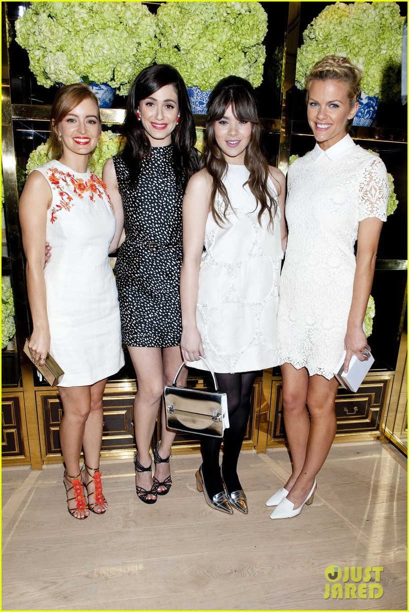 isla fisher ahna oreilly tory burch flagship store opening 16