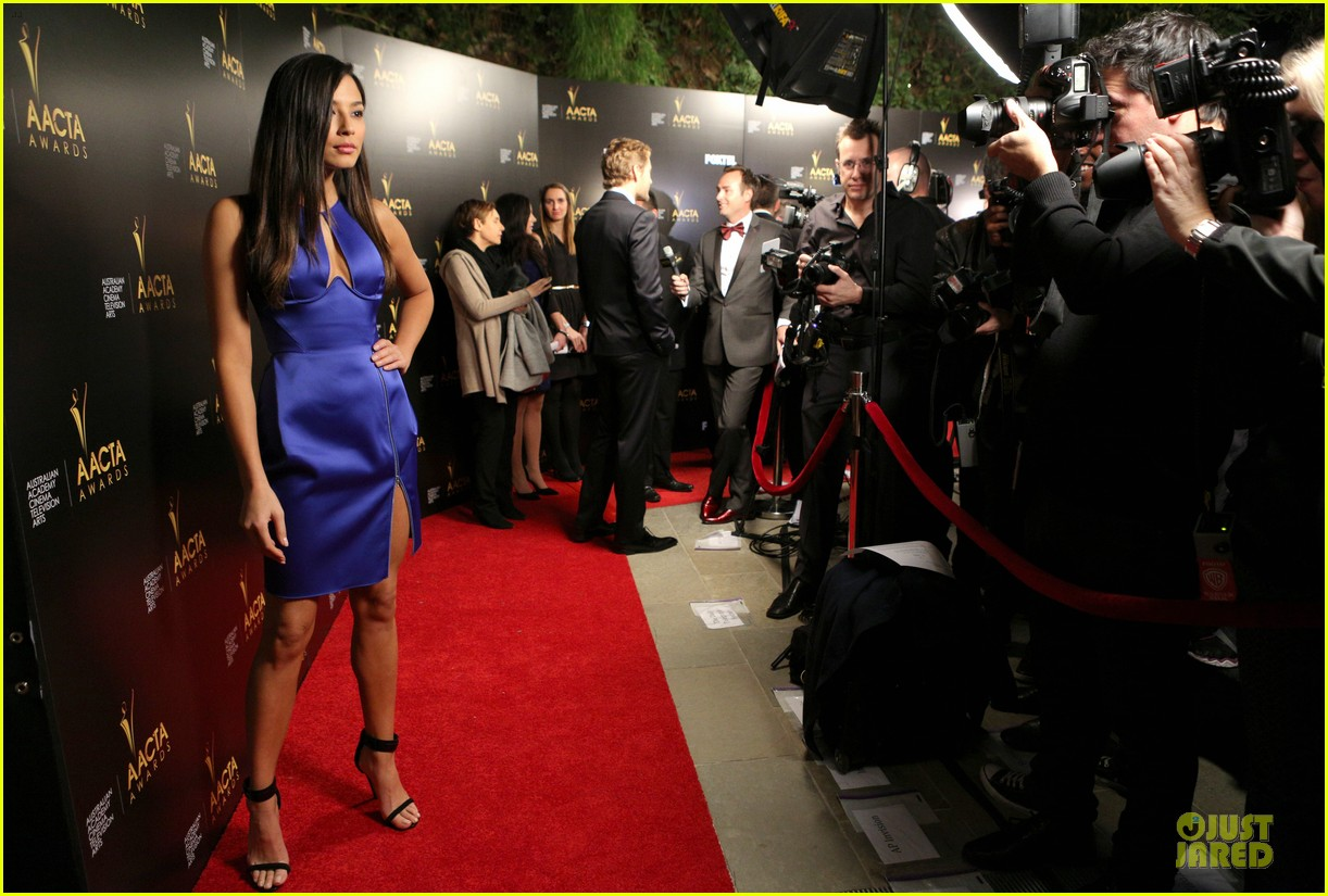 jessica gomes david o russell aacta awards 2014 14