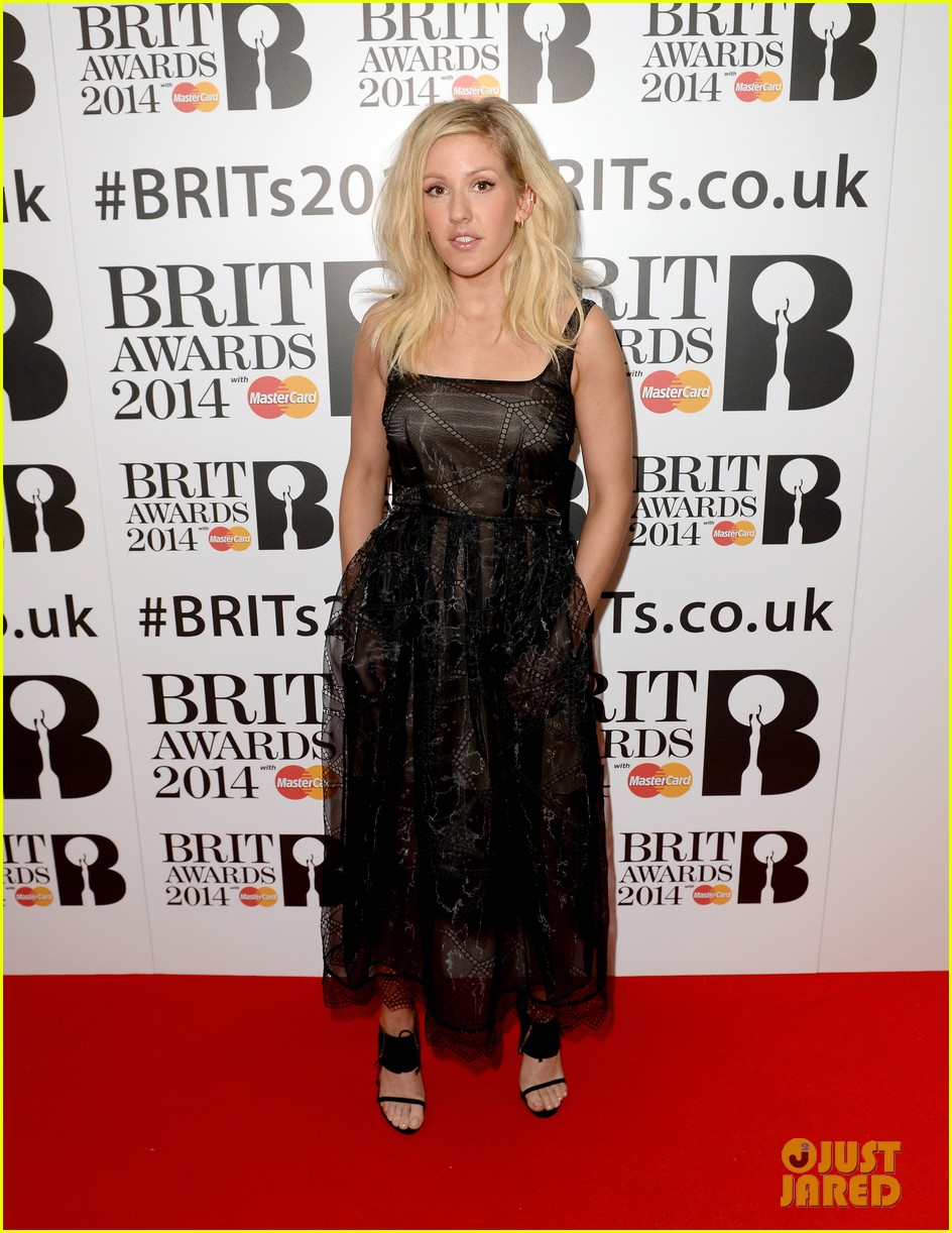 ellie goulding brit awards nominations ceremony 11