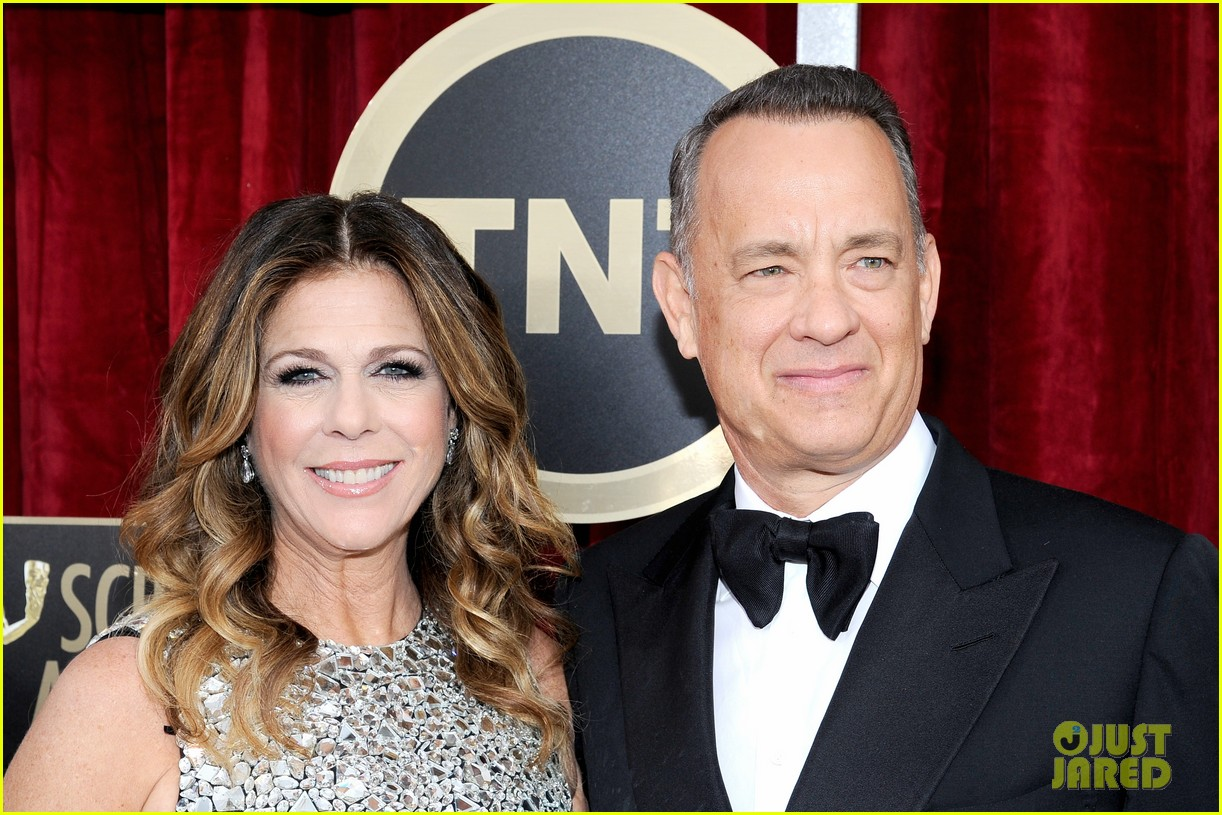 tom hanks sag awards 2014 red carpet with rita wilson 04