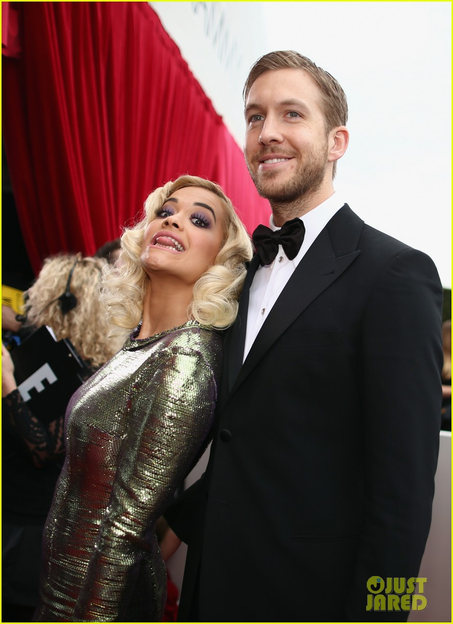 calvin harris grammys 2014 with rita ora 04