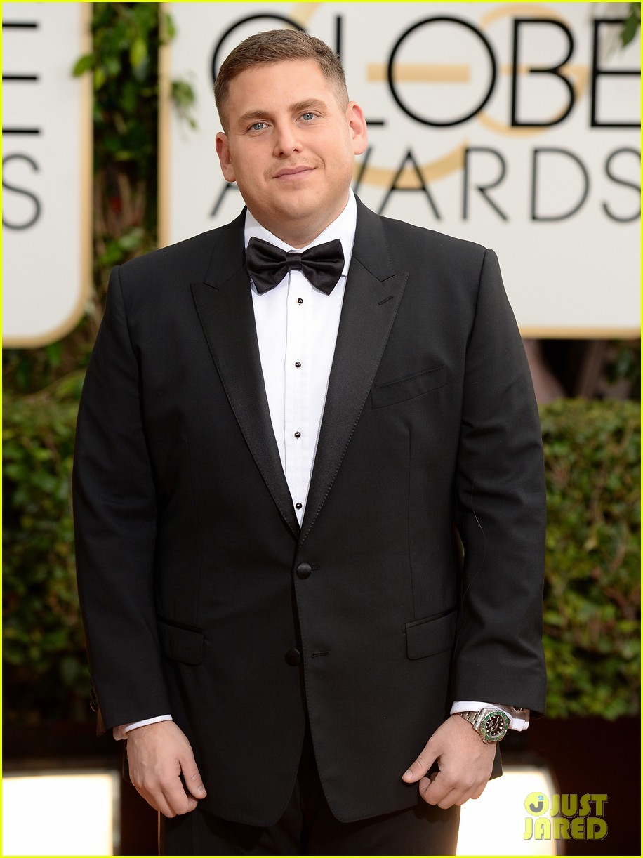 jonah hill golden globes 2014 red carpet 02