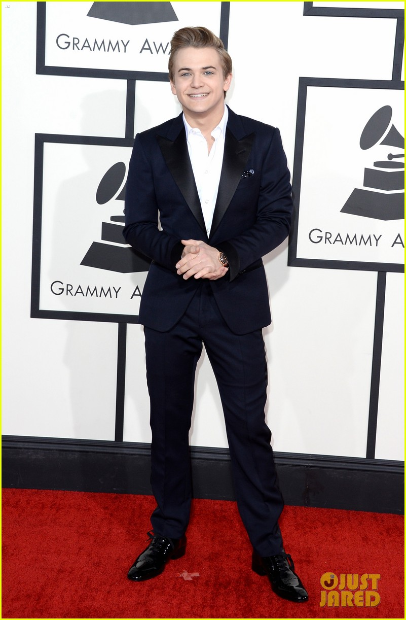 hunter hayes grammys 2014 red carpet 043040924