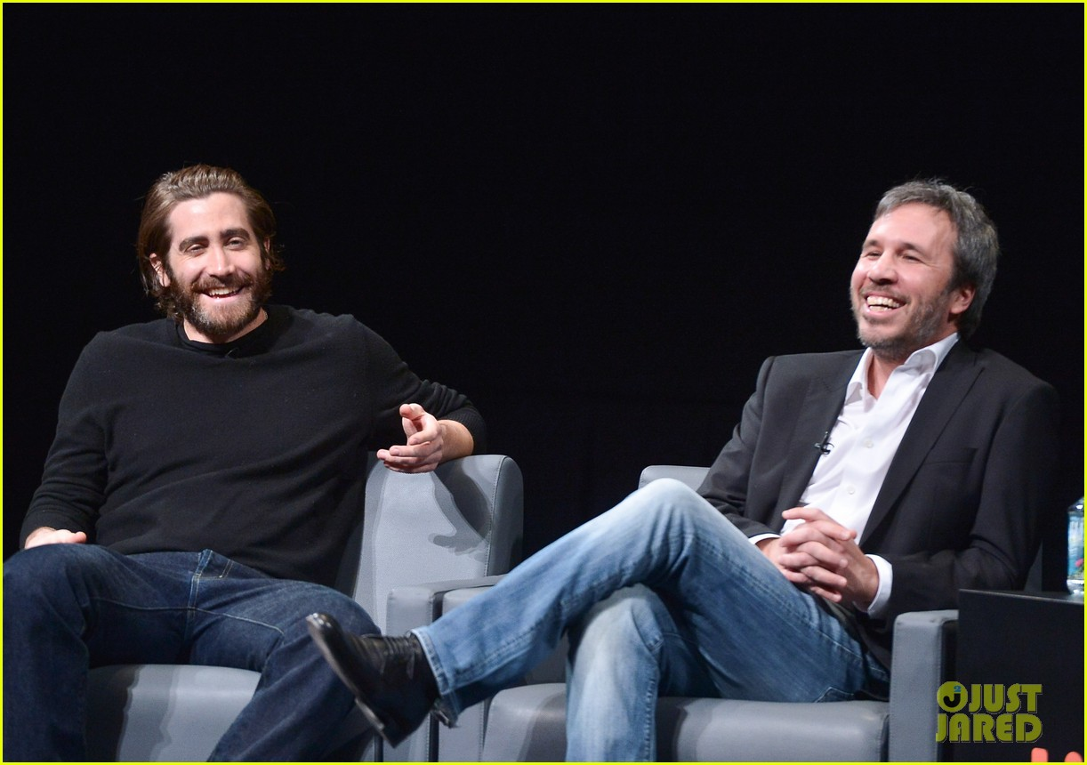 jake gyllenhaal enemy qa with director denis villeneuve 013023539