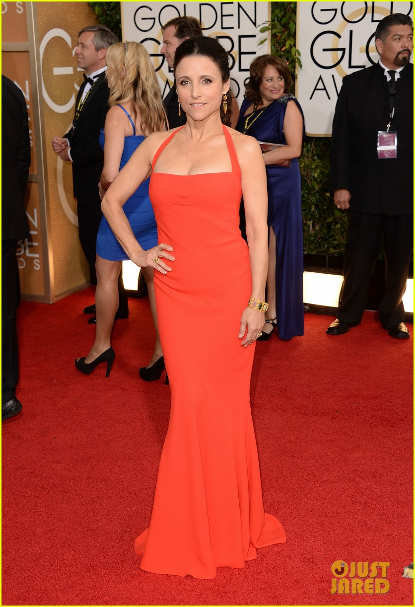 julia louis dreyfus golden globes 2014 red carpet 043029488