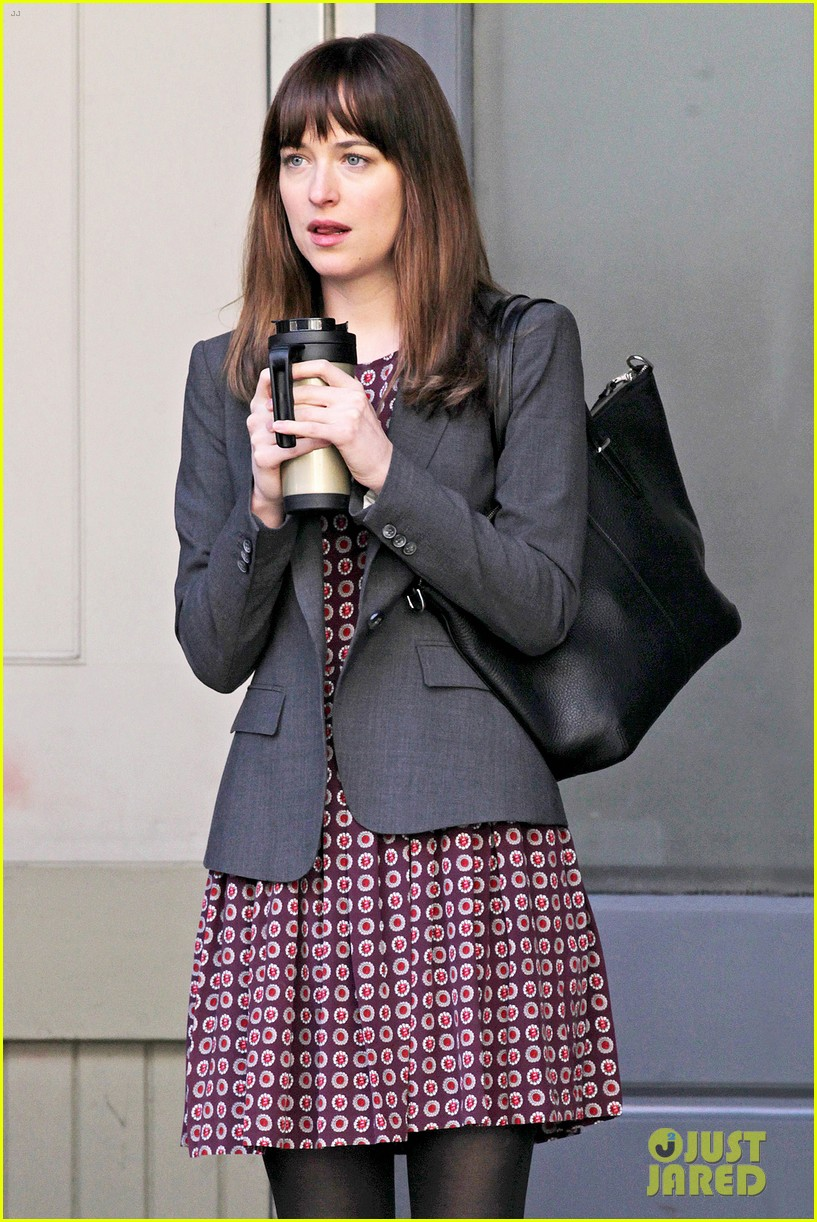 dakota johnson shoots fifty shades scenes with max martini 06